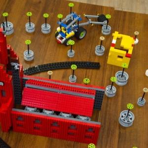 Zbudowali okonecki kościół z klocków LEGO